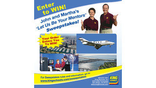 Win a Vacation and Spend a Day with John and Martha King in the John and Martha's Let Us Be Your Mentors Sweepstakes