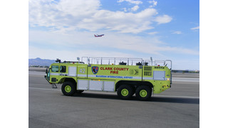 Oshkosh Striker Number 1,000 Delivered to McCarran International Airport in Las Vegas
