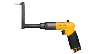 Compact reversing drill