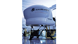 FlightSafety's Embraer 190 Simulator Built for Aeroméxico Receives Level D Qualification from the DGCA in Mexico