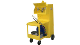 Gas Guardian Oxy-Acetylene Welding Cart