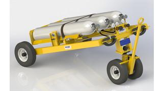 New Malabar Nitrogen Service Cart