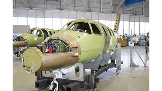Eclipse Receives Production Certificate for EA550 Final Assembly