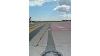 Runway elastomeric concrete