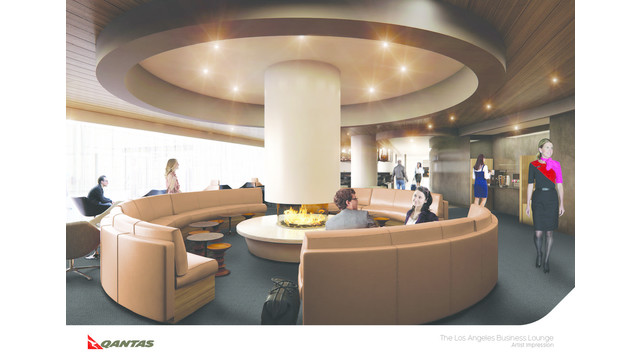 Qantas Announces Plans for New Los Angeles Business Lounge