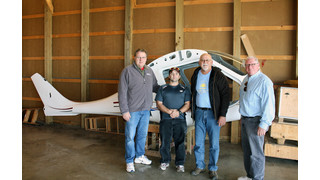 WITC Receives Composite Airplane Donation for Real World Training for Composite Technology Program Students