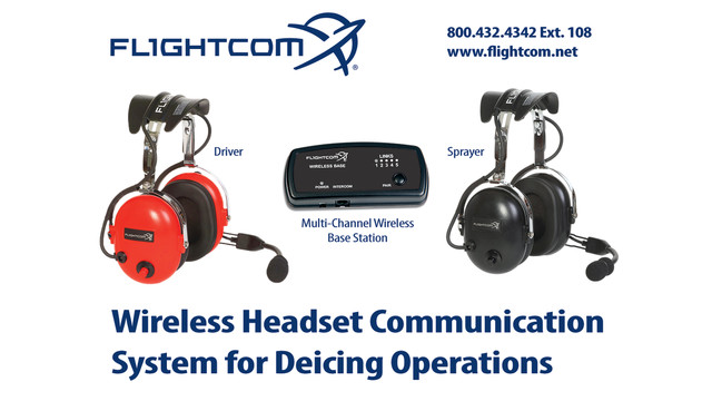 Wireless Deicing Headset