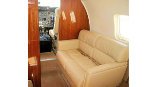 AvFab Receives STC Approval for 2-Place Divan on Learjet 60 Aircraft