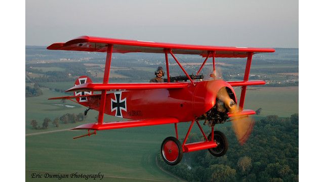 Great War Flying Museum Aircraft Help Celebrate Centennial of WWI Aviation at EAA AirVenture 2014