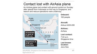 Differences Between MH370 And AirAsia Incidents