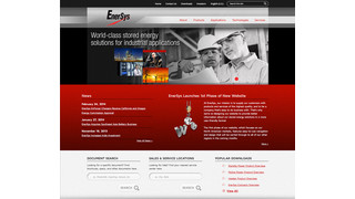 EnerSys Launches Initial Phase of New Enhanced Corporate Website