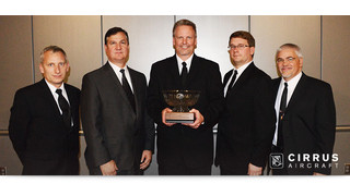 Cirrus Aircraft SR-Series Engineering and Design Team Receives Joseph T. Nall Safety Award