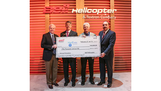 Bell Helicopter Announces Support of the Medevac Foundation International's HEMS 101 Project
