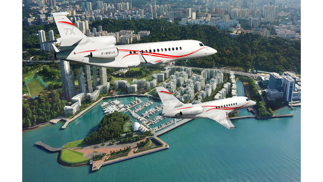 Dassault Falcon Jet Sees Growing Strength in Southeast Asia
