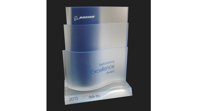 APLIX Inc. Receives Silver Boeing Performance Excellence Award