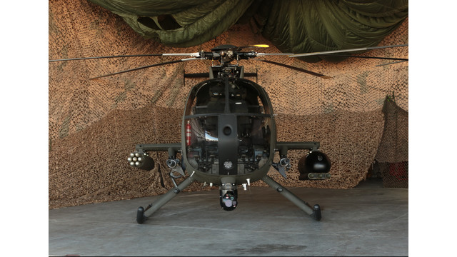 MD Unveils New MD 530G Scout Attack Helicopter