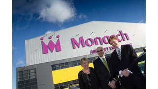 Monarch Aircraft Engineering Showcases New Birmingham Facility to Treasury Secretary