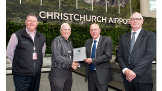 Christchurch Airport Wins AAGSC Safety Award