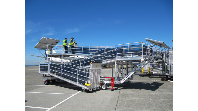 KCI Develops Solar-Powered Passenger Ramp