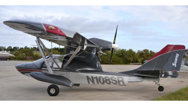 Searey Light Sport Elite Amphibious Plane Ready For Take Off