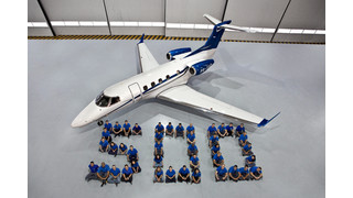 Embraer Executive Jets Reaches Milestone of 500th Phenom Family Jet