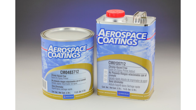 New Aerospace Coatings Chrome Hazard Free Quick Dry Epoxy Primer From Sherwin-Williams