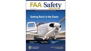 March/April Issue of FAA Safety Briefing Available
