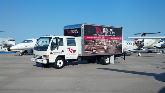 Stevens Aviation Establishes Permanent Mobile Maintenance Unit At Centennial Airport in Denver, CO