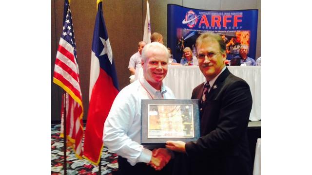 Massport Fire Chief Receives Outstanding Service Award