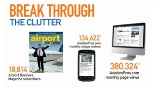 Airport Business-Message from Aviation Group Publisher