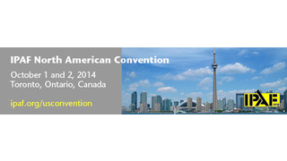 Speakers Finalized for IPAF North American Convention