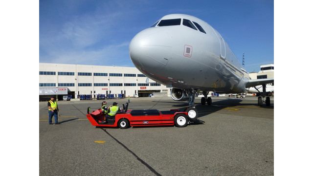 Lektro's Largest Tow Tractor Gains Certification From Airbus