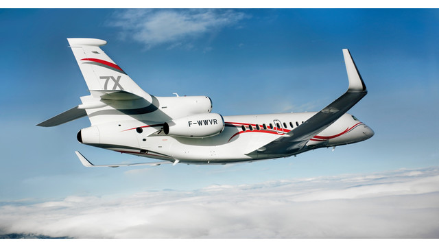 Dassault Aviation to Showcase Popular Falcon 7X at South African Air Show