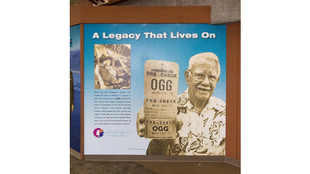 Memorial Wall At Kahului Airport Answers The Mystery Of 'OGG