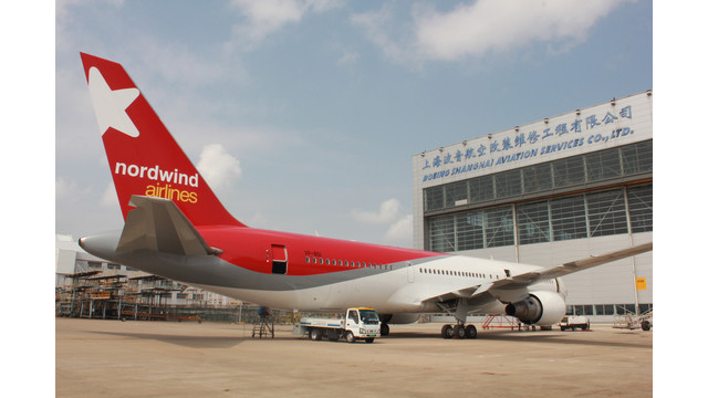 Boeing Shanghai Earns Confidence, More Business from Nordwind Airlines