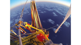 Balloon Crew Surpasses Distance Record; Mexico Landing Next