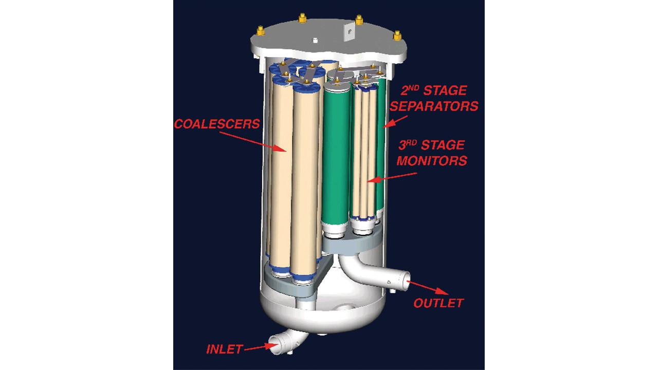 Filter  Separator Vessel