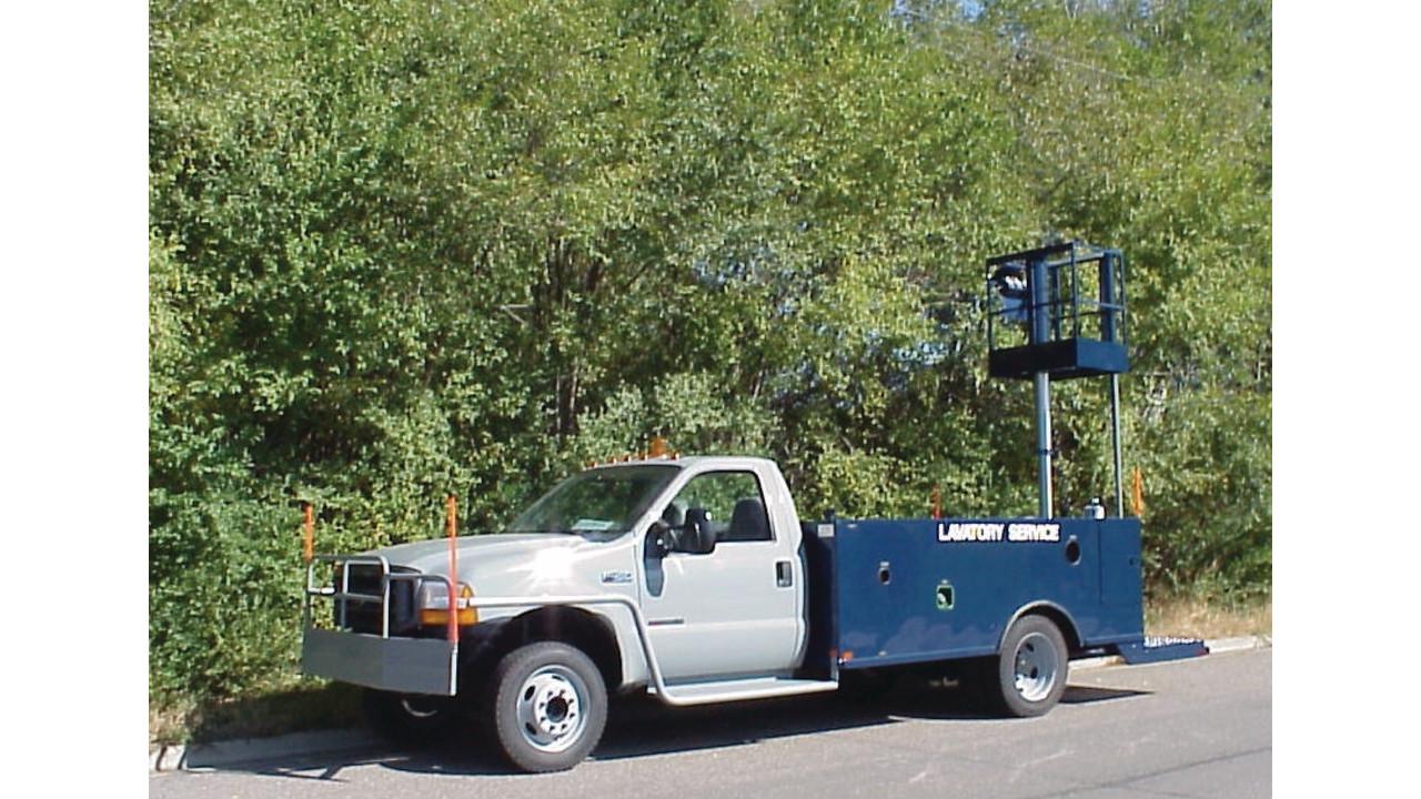 Lavatory Service Truck Aviationpros Com