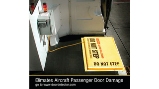 Aircraft Door Detector / Warning Device