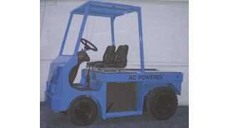 Electric Airport Tractor