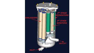 Filter/Separator Vessel