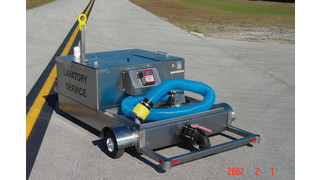 Model PNX -LC60/40LP Lavatory Service Cart
