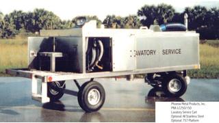 PNX-LC250/150PL Lavatory Service Cart