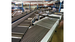 S-3000CB cross-belt sorter
