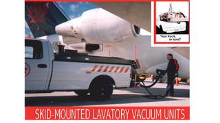 Skid-Mounted Lavatory Service Unit