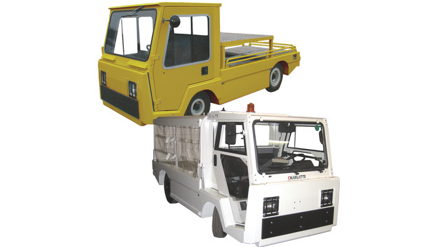 CFB2000E Flatbed Tow Tractor