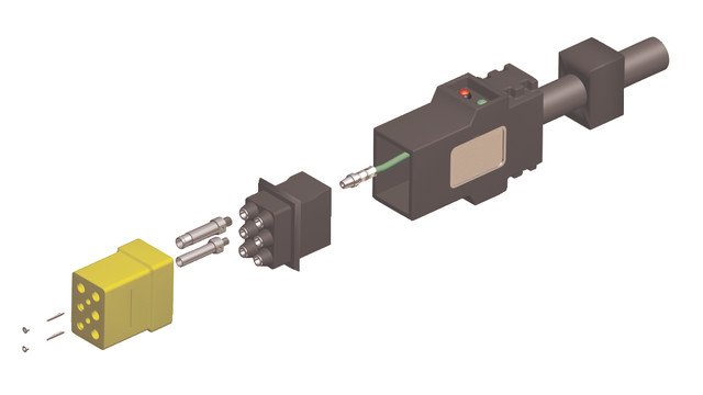 Field Attachable Connector