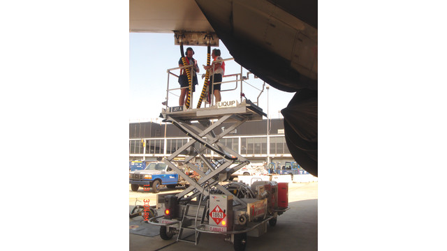 High Lift Hydrant Carts