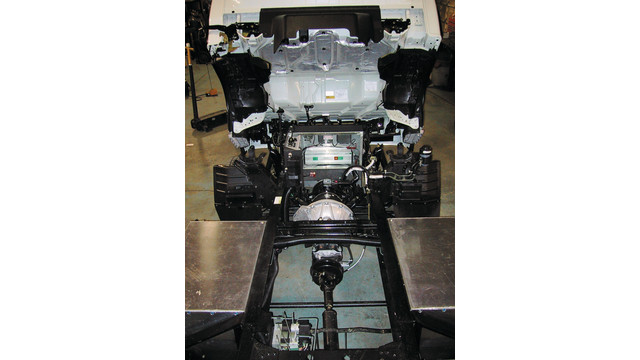 Isuzu Electric Drive Chassis