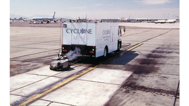 Runway/Ramp Cleaning System